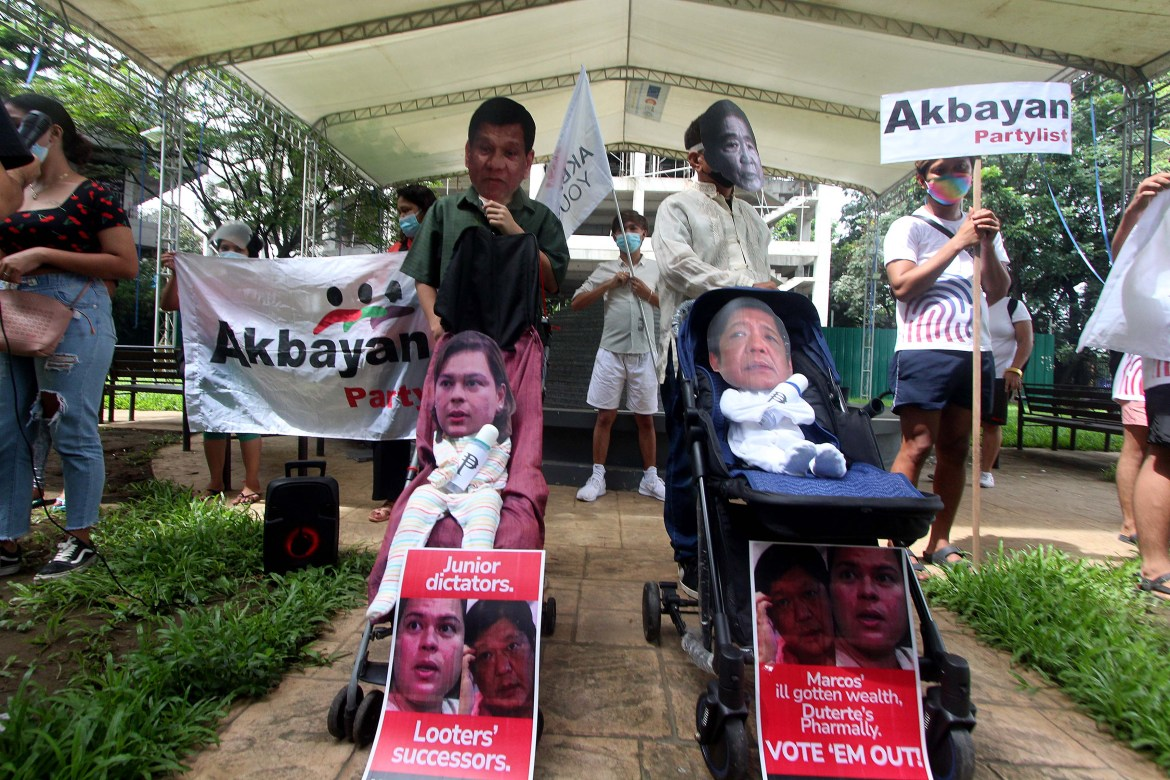 Cause-oriented groups portray BBM, Sara as 'child dictators'