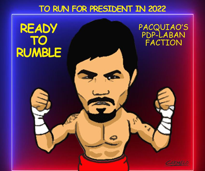 Pacquiao Retires From Boxing, Will Fight For President