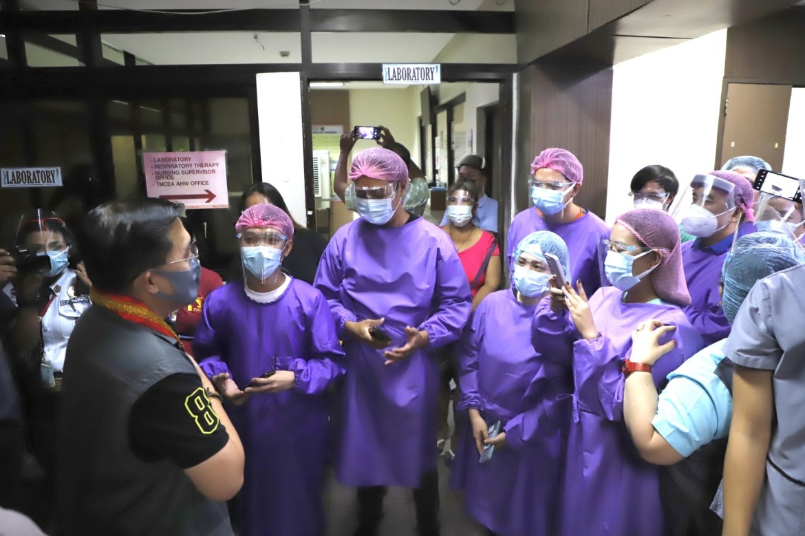 Go pushes for more inclusive allowances, benefits to HCWs during pandemic