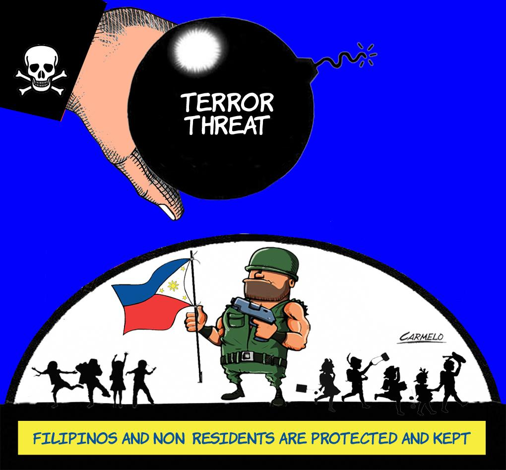 People in PH protected from terror threats: AFP spox