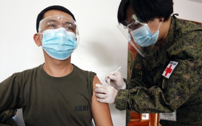 97.2K AFP personnel fully vaxxed vs. Covid-19