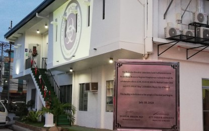 Bacolod hospital certified to perform Covid-19 pooled test