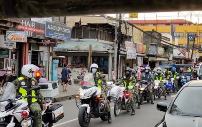 Caraga police intensifies visibility as poll period nears