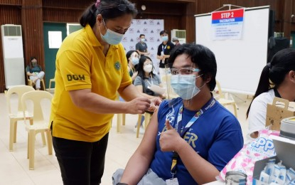 93% of CHED front-liners now fully vaccinated vs. Covid-19