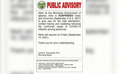 Iloilo town mayor tests positive for Covid-19