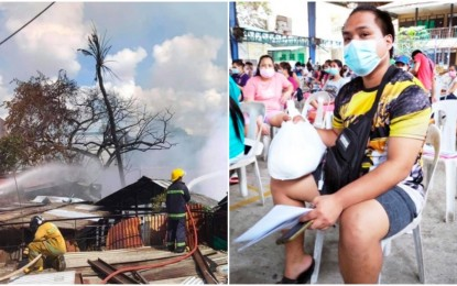 Over 200 Cebu fire victims get aid from Go