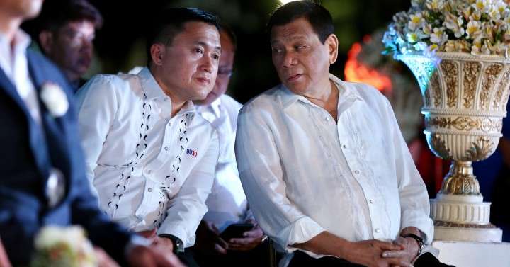 Go, Duterte proclaimed official president, vice president bets by PDP-Laban Cusi faction