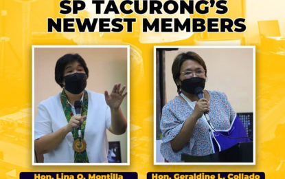 Tacurong City welcomes 2 new councilors