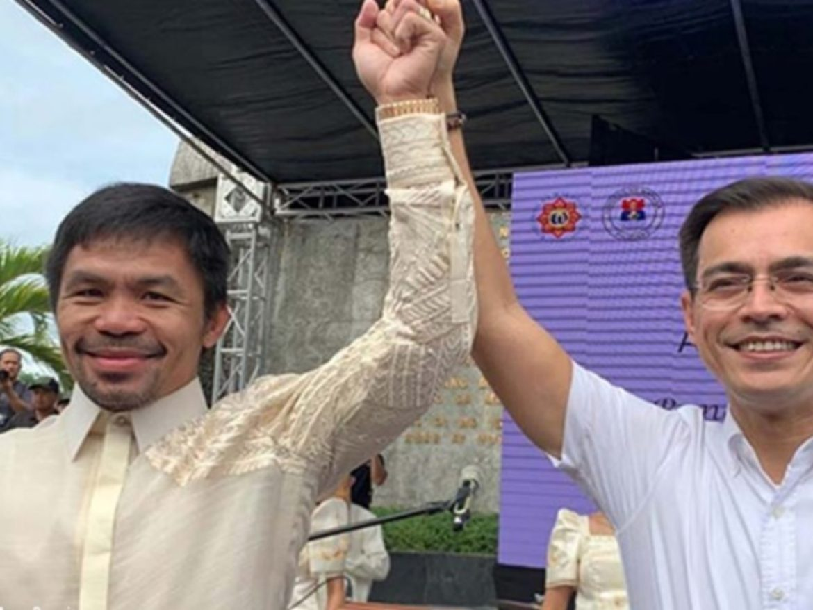 Pacquiao welcomes unity talks as Isko fears historical revisionism if BBM wins as president