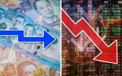 Shares down ahead of US holiday; peso ends sideways