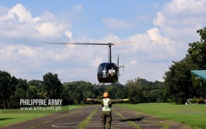 PH Army helicopter pilots hold cross-country training