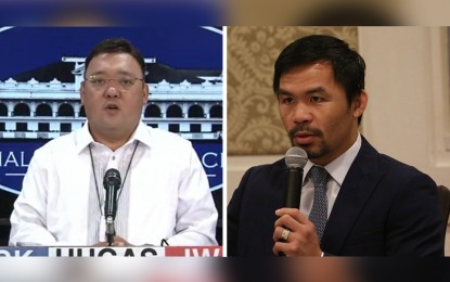 There's no Covid-19 'plundemic,' Palace tells Pacquiao