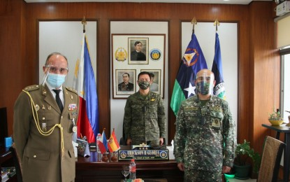 AFP welcomes new Spanish defense attaché