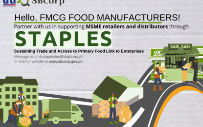 Food firm 1st SBCorp accredited partner for loan program