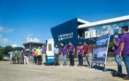 N. Samar officials grateful for upgraded Catarman airport