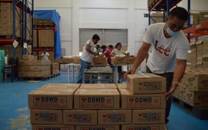 Nearly 11K food packs to be given to E. Visayas typhoon victims