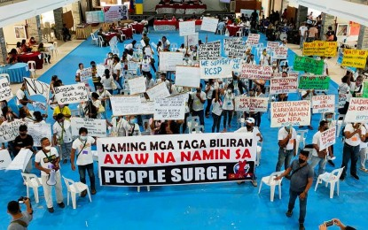 Over 100 Biliran residents cut ties with NPA-organized group