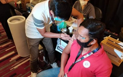 Vax doses administered in Taguig top 1M