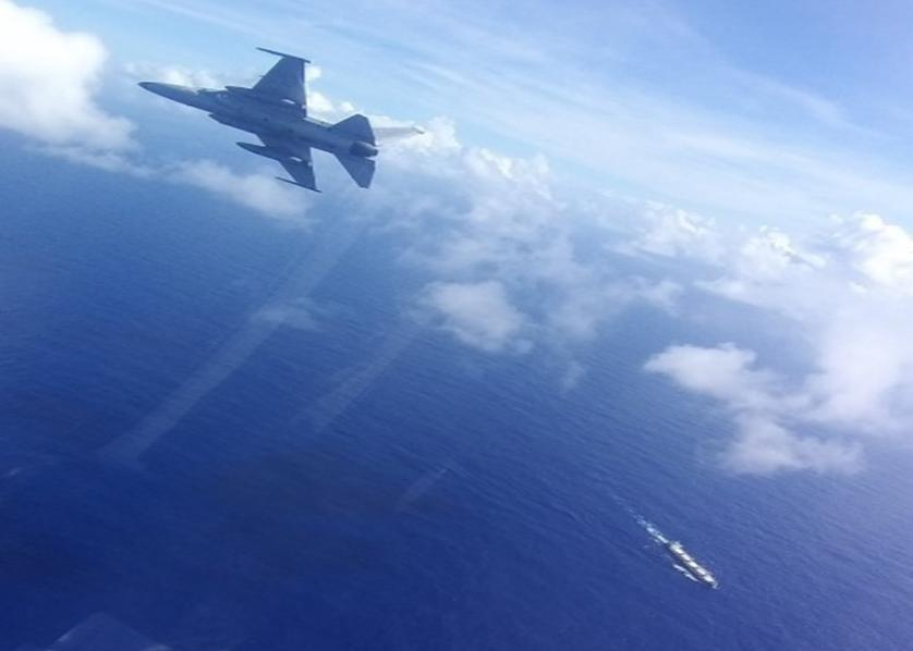 Philippine Air Force intercepts unknown aircraft