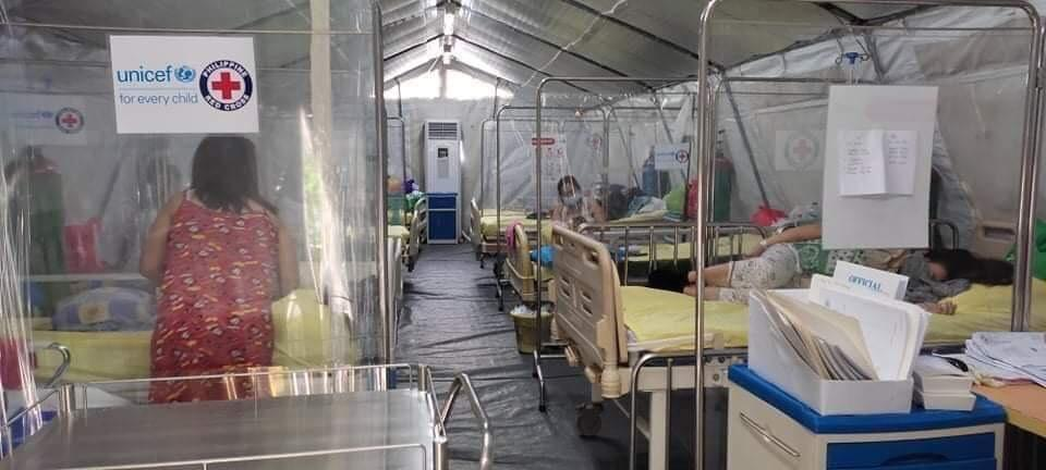 QC hospital beds for Covid reach 132% occupancy rate