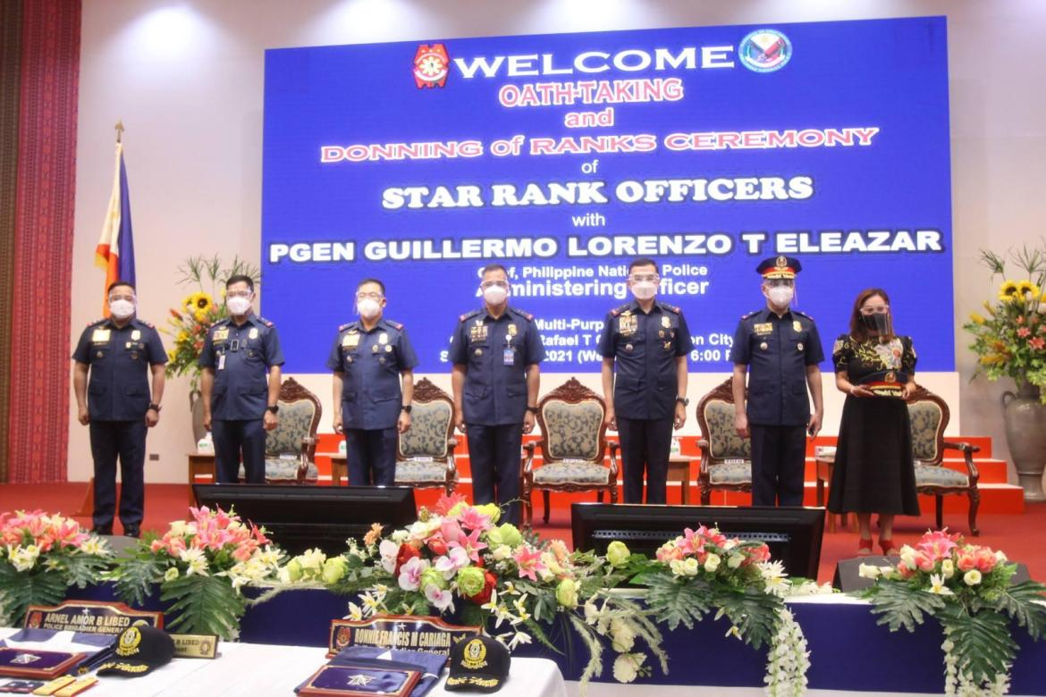 2 PNP senior officers promoted to two-star ranks