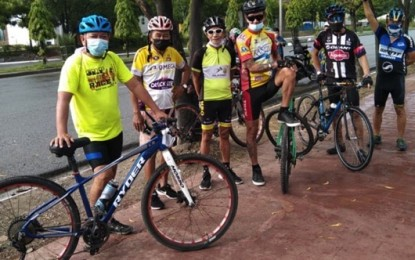 Cebu City bikers reminded to wear face mask