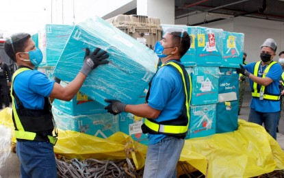 110K doses of various Covid vax brands arrive in Davao