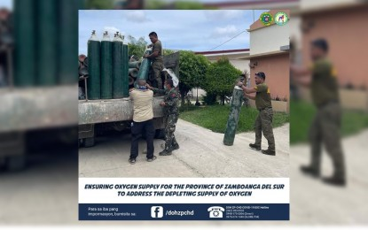 DOH taps military, suppliers to help boost oxygen supply