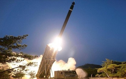 NoKor test-fires new anti-aircraft missile