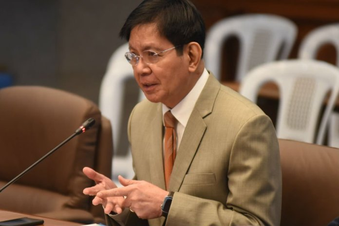 Politicking? Lacson questions PNP official's 'Global Coalition'