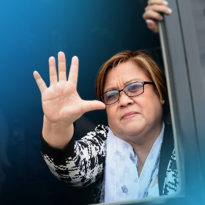 De Lima thanks supporters for support on her filing of candidacy