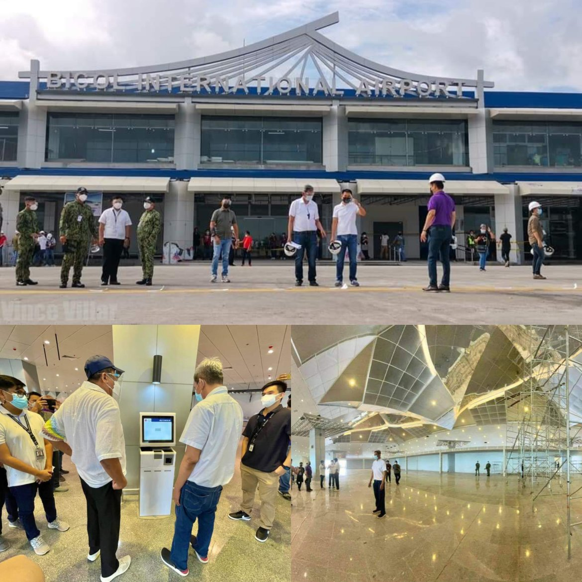 Bicol int'l airport starts commercial flight on Friday