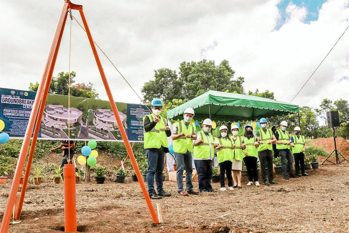 All systems go for 1st gov't communication academy construction in Bukidnon