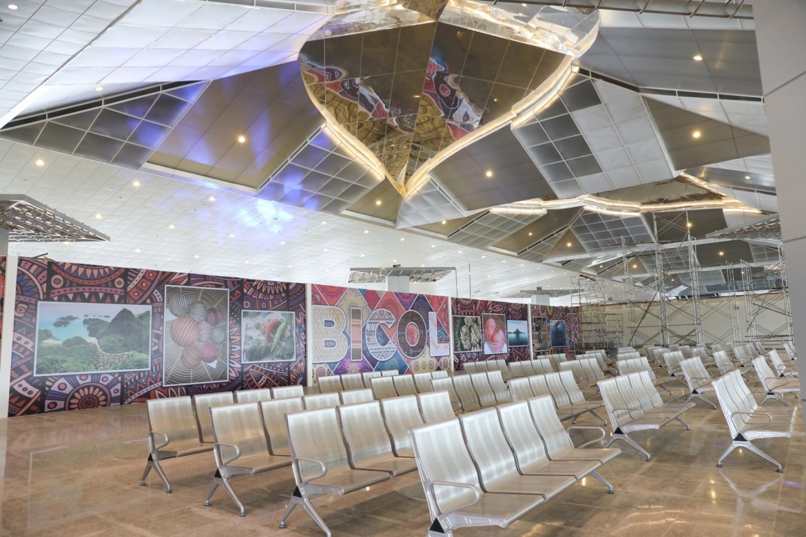 New Bicol International Airport part of Duterte Legacy says Go as he highlights PH's Golden Age of Infrastructure