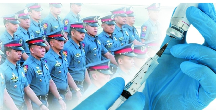 370 cops recovered from COVID-19; 8 in 10 police now fully vaccinated