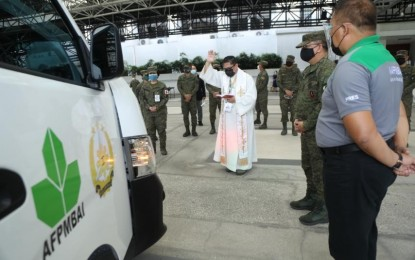 AFP receives P7.6-M worth of vehicles from AFPMBAI