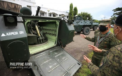Army chief cites Armor Division's vital role in security goals