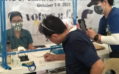 Lone opposition official in Bacolod City runs for vice mayor