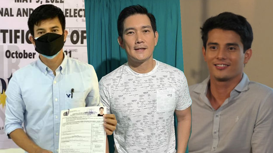 Celebrities, athletes file their COC for election 2022