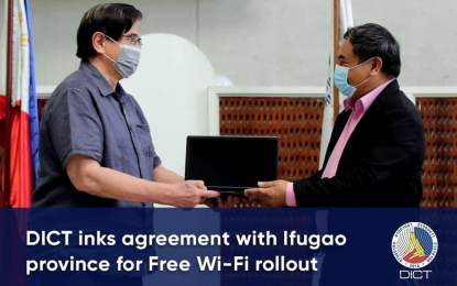 DICT, Ifugao sign deal for allocation of 50 free Wi-Fi sites
