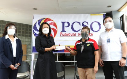 PCSO turns over P1-B aid funds to Nat'l Treasury