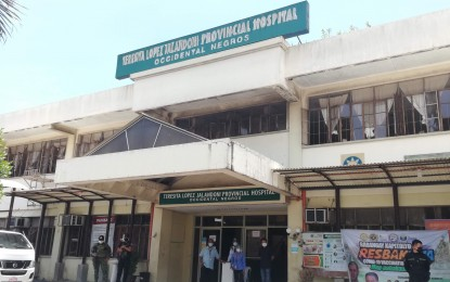Over 1K Bacolod City residents admitted in prov'l-run hospitals