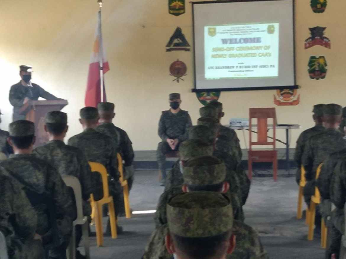 Army's 91IB deploys 46 CAA to help fight NPA remnants, maintain peace and order in Aurora