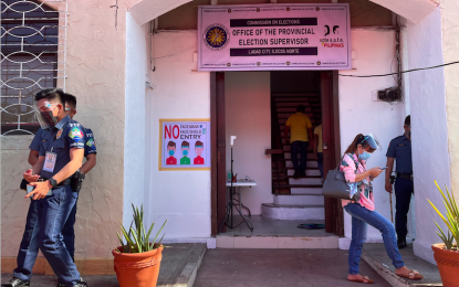 PNP-Ilocos intensifies police visibility in Comelec offices