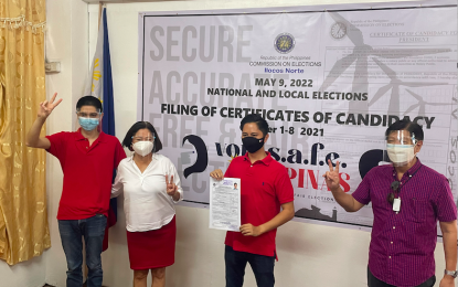 Another Marcos files COC for Ilocos Norte 1st district rep