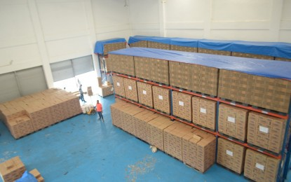 Food packs ready for 'Lannie'-affected residents in E. Visayas