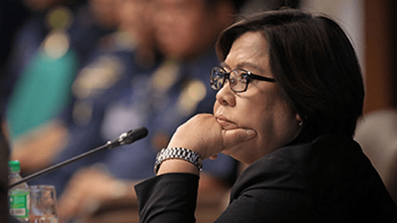 De Lima scores Duterte for acting as 'attorney-outlaw' of Yang, Pharmally