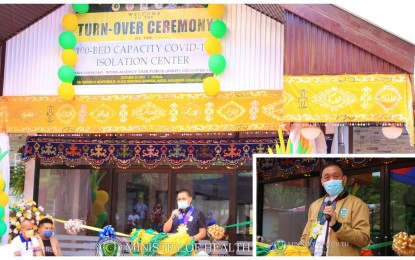 BARMM hands over 100-bed Covid-19 isolation center in Lanao Sur