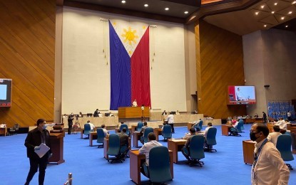 House OKs proposed P5-T 2022 nat'l budget on final reading